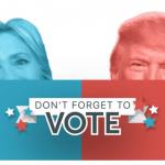 【マスクAR】大統領候補者のマスクで投票呼びかけ